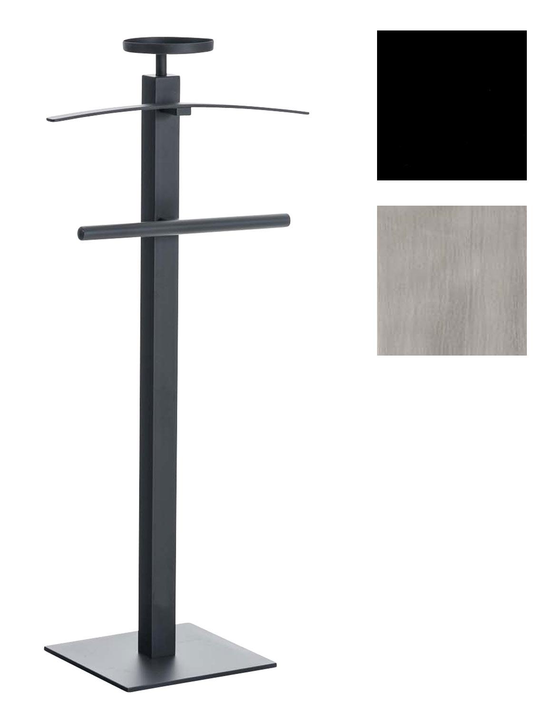 Détails sur Valet de Chambre YANNIC Garde-robe sur Pied Porte-Manteau Valet  de Nuit Moderne