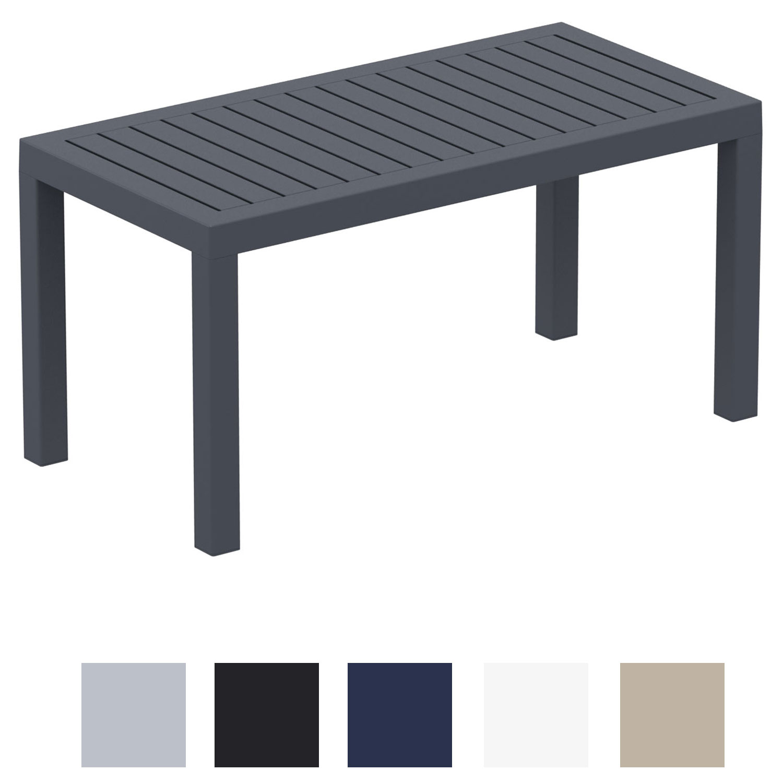 Table Lounge Ocean Table de Balcon Jardin et Véranda Table en ...