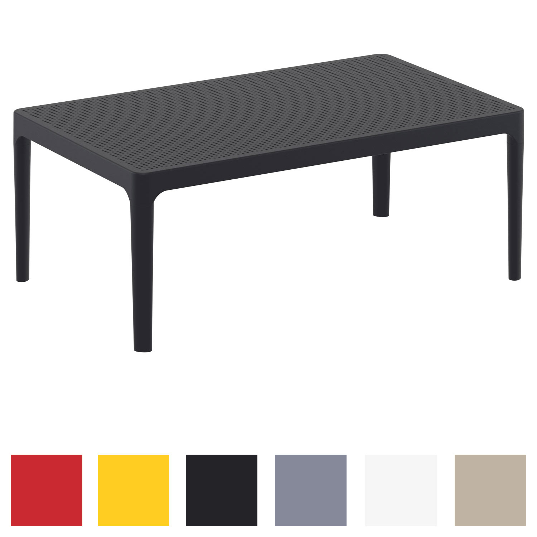 Détails sur Table Lounge SKY Table d\'Appoint en Plastique Table de Jardin  Table Basse